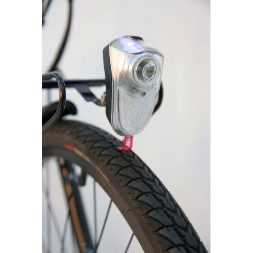 BiClou Porteur 26'' - Taille M - Vélo électrique de ville - Rouge