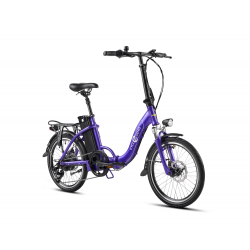 Fold 20 - Violet Mat - Vélo...